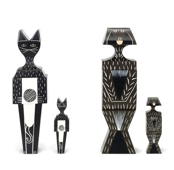 Vitra - Puzzle Doll und Wooden Doll Cat and Dog